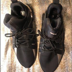Puma Shoes - AUTHENTIC Puma Muse Echo Shoes Black Silver